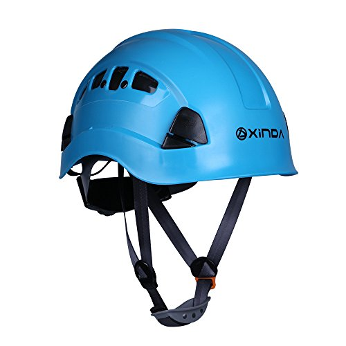 Climbing Safety Helmet Head Protection Hard Hat for Rock Climbing Tree Arborist Abseiling Construction Aerial Work Caving Rappelling Rescue Equipment