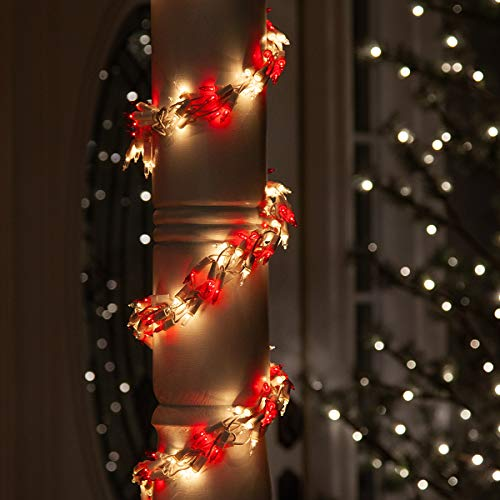 Christmas Lights For Porch Columns