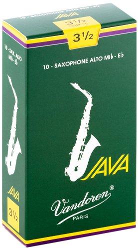 Vandoren SR2635 Java Alt Saxophon Blätter - 10 Einheiten