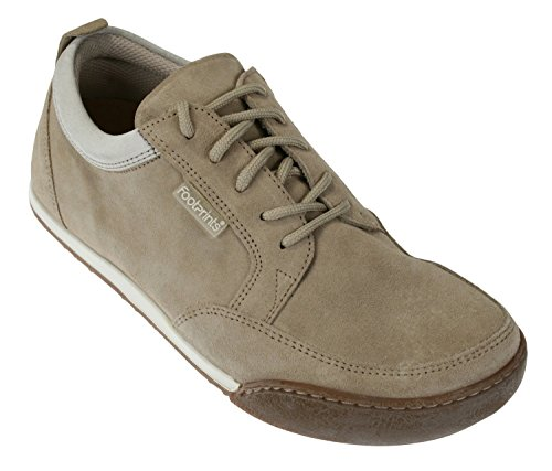 Footprints Canton Womens Fashion Sneakers Suede Beige White eHD60jp