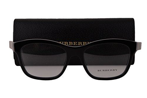 Burberry BE2227 Eyeglasses 52-17-140 Black 3600 BE - Burberry Frames Ophthalmic