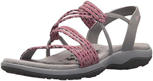 (Skechers Women's Reggae Slim-Stretch Appeal-Z-Gore Slingback Sandal, Rose 12 M US)