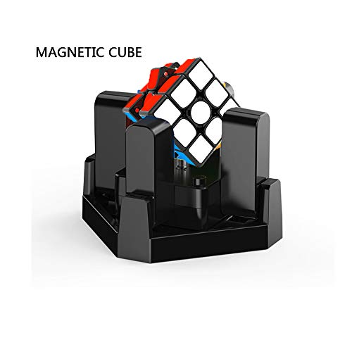 QREZ Robot for Magic Cubes Stickerless Brain Teaser Twist Cubo Magico Educational Toys for Children Original