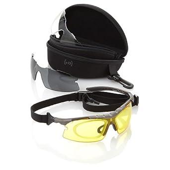 EYEDEFEND SLINGSHOT TREK-CLR//CLR-AF Optx 2020 Safety Glasses Crystal Clear