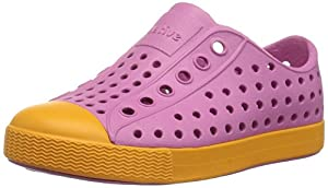 Native Kids Jefferson Water Proof Shoes, Malibu Pink/Marigold Orange, 12 Medium US Little Kid