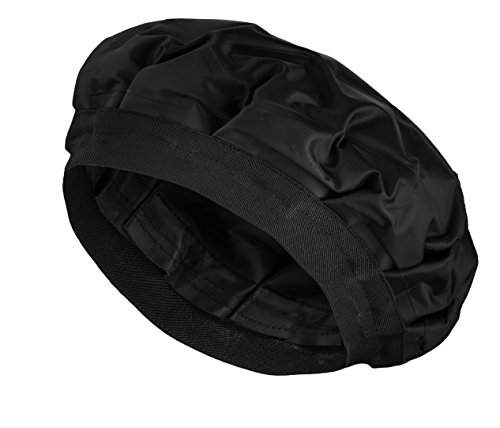 Cordless Deep Conditioning Heat Cap - Hair Styling and Treatment Steam Cap | Heat Therapy and Thermal Spa Hair Steamer Gel Cap - Black ()