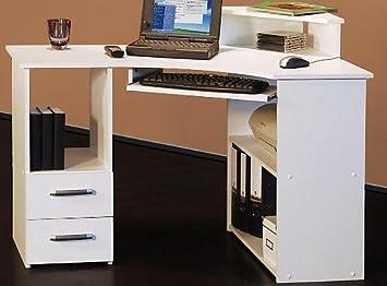 Schreibtisch Eck Weiss Bv Vertrieb Eckschreibtisch Burotisch Weiss
