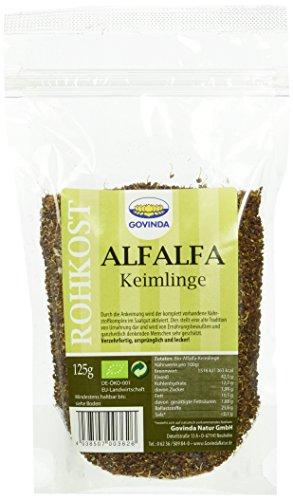 Govinda Alfalfa-Keimlinge, 3er Pack (3 x 125 g)