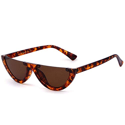 Clout Goggles Cat Eye Sunglasses Half Frame Vintage Mod Style Retro Kurt Cobain ()