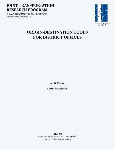 Origin-Destination Tools for District Offices