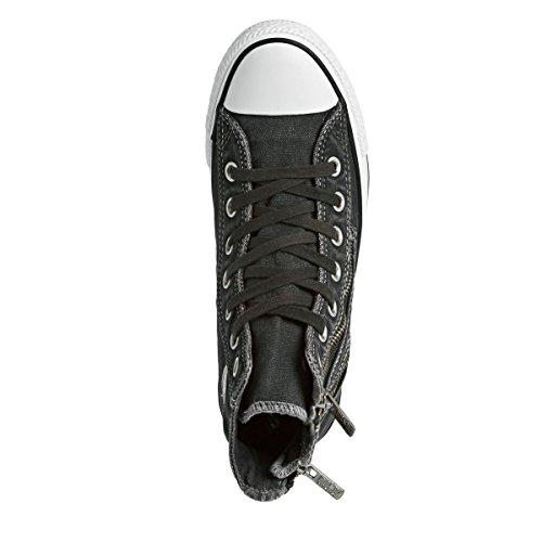 Converse CT Dual Zip Hi 549736C, Damen Sneaker Grau