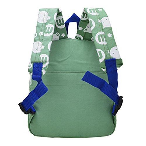 Kinder niedlichen Hündchen Rucksack, hibote Loverly Bär Kleinkind Mädchen Schule Tasche Blue Bear green bear