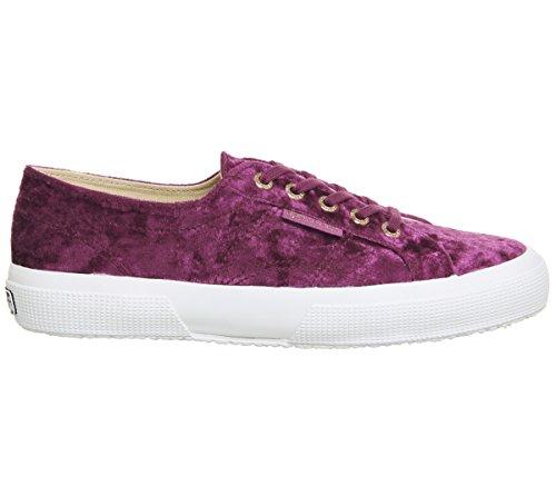 Rose S003i10 Superga cotushirt Pink 2750 Ash Adulto Unisex Sneaker Velvet w77r8x6Eq