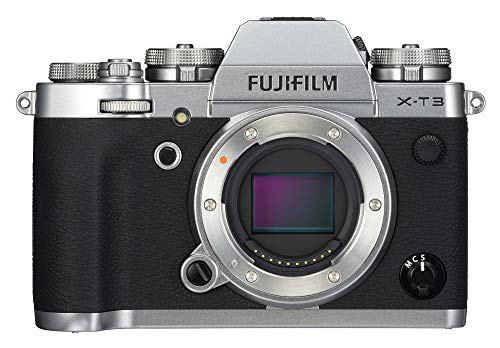 Fujifilm X-T3 Mirrorless Digital Camera (Body Only) – Silver For Sale