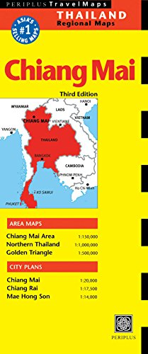 Chiang Mai Travel Map Third Edition (Thailand Regional Maps) (Chiang Mai Map)