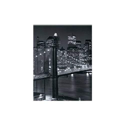 Di&Gi Separè Bifacciale 3 Pannelli New York Night Cm. 185x120