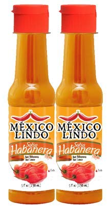 - Castillo (Mexico Lindo) Salsa Habañera Red, 5-ounce Bottle (Pack of 2)