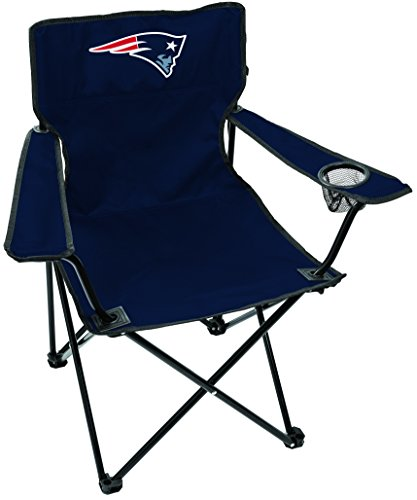 Chair Folding Tailgating Tailgate (NFL New England Patriots Unisex LP0055NFL Game Day Elite Chair, Blue, Adult)