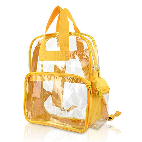 Wholesale Clear Backpacks Small Book Bags 50 Pc DALIX Gold