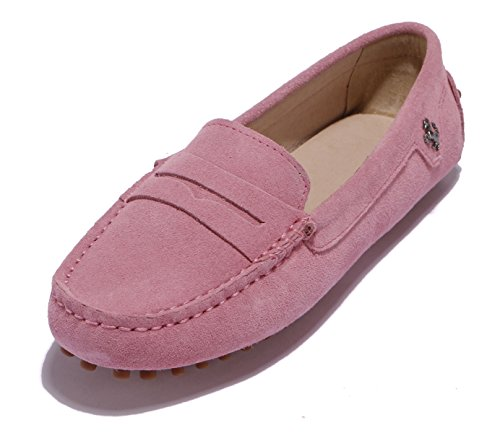 femme Minitoo fermé Bout Pink Suede EE0AFqw