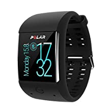 Polar 90063088 M600 Sports Smart Watch, Black