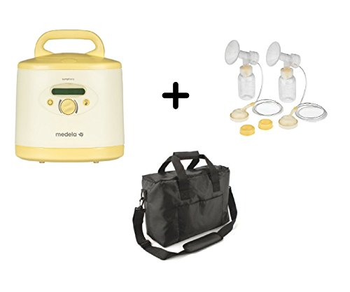 Medela Professional Symphony Plus Electric Breast Pump Complete Package, Includes Professional Pumping Kit and Soft Carrying Case