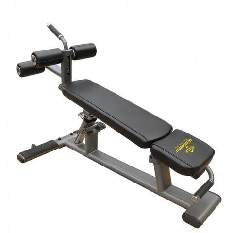 Element Fitness Commercial Ab/Crunch Bench by ELEMENT FITNESS