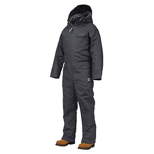 Work King Men's Deluxe Insulated Coverall, Navy, 2XL (Deluxe Insulated Coverall)
