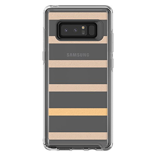 - OtterBox SYMMETRY CLEAR SERIES Case for Samsung Galaxy Note8 - Retail Packaging - INSIDE THE LINE (CLEAR/INSIDE THE LINE GRAPHIC)