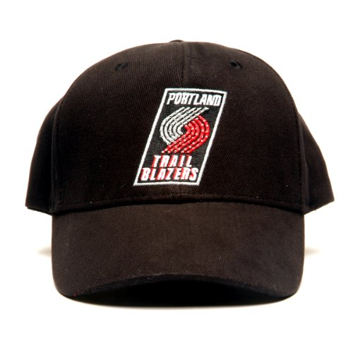 NBA Portland Trailblazers LED Light-Up Logo Adjustable Hat