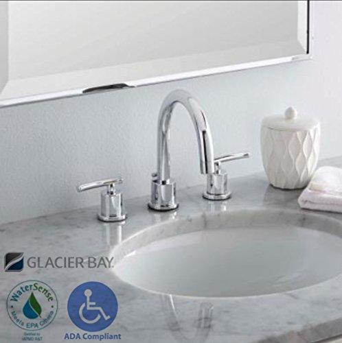 Glacier Bay Fw0c4100cp Dorset 8 39 2 Handle Bathroom Faucet Chrome Coupon Code Home Improvement
