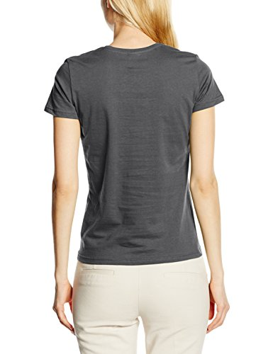 Stedman Apparel, Camiseta para Mujer Grey (Real Grey)