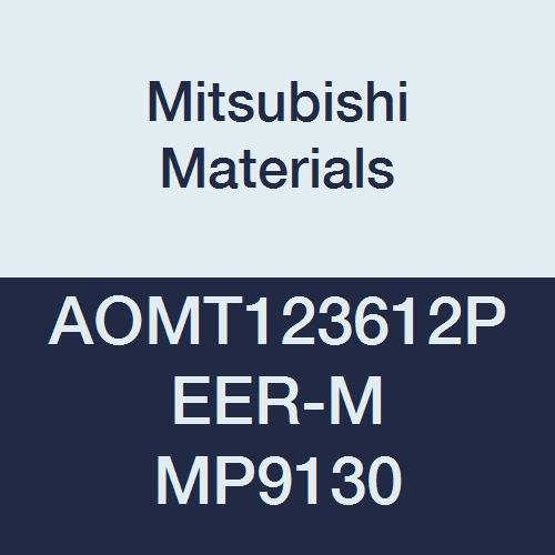 0.142 Thick Parallelogram 85/° 0.047 Corner Radius Mitsubishi Materials AOMT123612PEER-M MP9130 Coated Carbide Milling Insert Round Honing Pack of 10 Grade MP9130 Class M