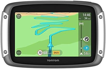 TomTom Rider 40 - Navegador GPS para Coche de 4.3, Color Negro y Plata: Amazon.es: Electrónica
