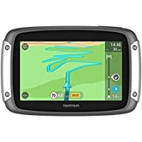 TomTom RIDER 40 - GPS Moto - Cartographie Europe 23, Trafic à Vie et Appel Mains-Libres