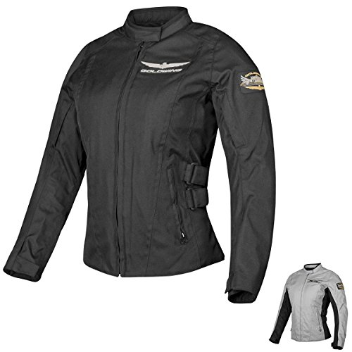 Honda Goldwing Touring Women's Textile Street Motorcycle Jacket - Grey / Large