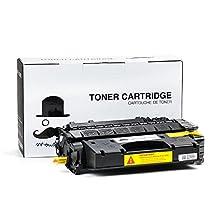 Moustache ® HP 80X CF280X Premium Quality (HP80A 80A CF280A High Yield 6900 Pages) HP80X New Compatible Balck BK Toner Cartridge For HP LaserJet Pro 400 (M401dn / M401dne / M401dw / M401n / M425dn), Pro M403dn, Pro M403n
