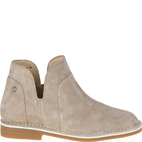Hush Puppies Claudia Catelyn Women 5.5 Taupe Suede