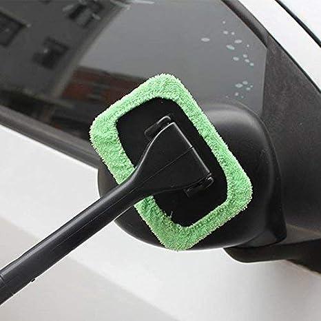 Holidaysummer Limpiador fácil para parabrisas - Limpia ventanas difíciles de alcanzar en tu coche, lavable en casa: Amazon.es: Hogar
