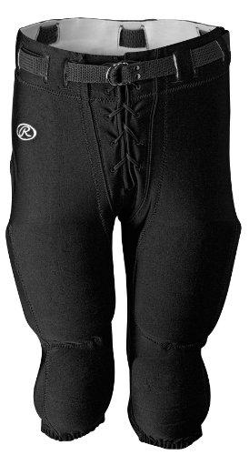 Rawlings Football Pants - Rawlings Men's F4535 Football Pant (Black, X-Small)