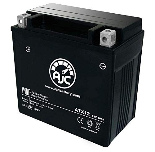 Piaggio - Vespa LX150 4T 150CC Scooter and Moped Replacement Battery (-2016) - This is an AJC Brand Replacement by AJC