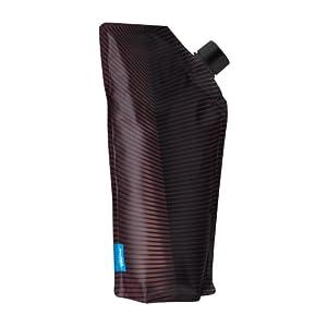 Vapur AfterHours 750 mL BPA Free Foldable Flexible Wine Bottle (Maroon)