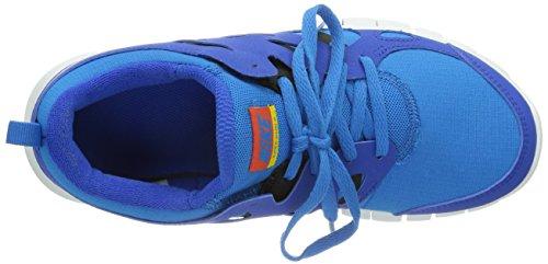 Nike Free Run 2 (gs) Formatori Di Gestione 443742 Scarpe Da Tennis Iper Cobalto / Squadra Arancio-blu-nero Photo 404