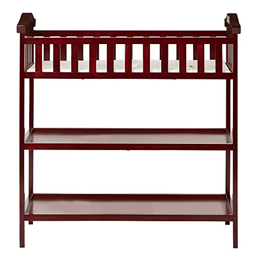 Dream On Me Jessica Changing Table, Cherry by Dream On Me