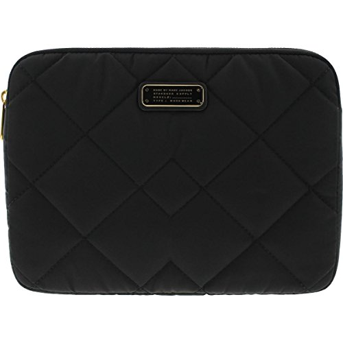 Marc by Marc Jacobs Quilted Faux Trim Tablet Case Black O/S