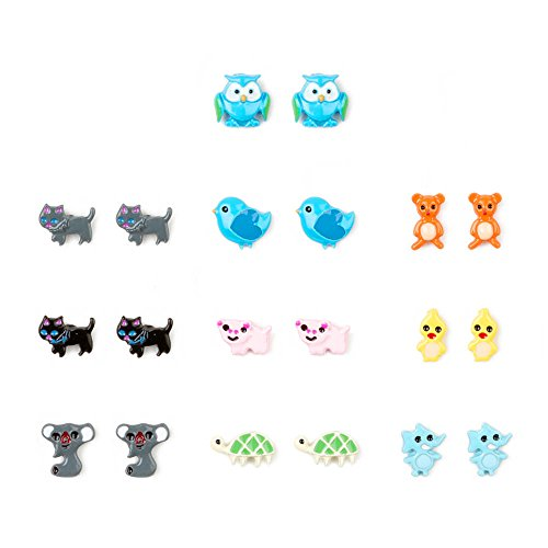 Claires Cute Animals Earrings Girls