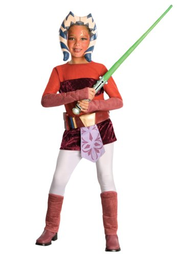 Disney Star Wars Clone Wars: Ahsoka Deluxe Child Costume Large]()
