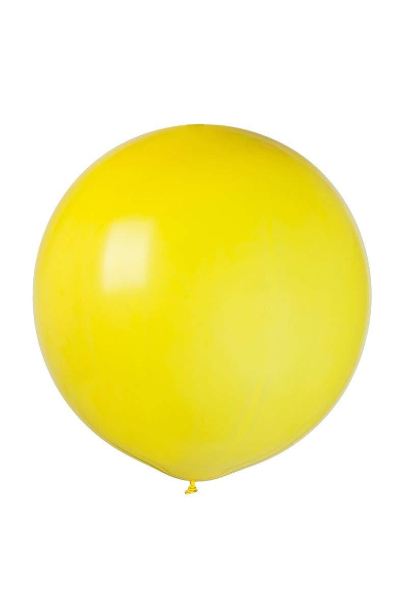 Balón de juego gigante, amarillo, 81 cm de diámetro: Amazon.es ...