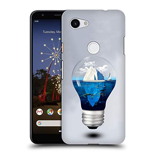 Official Dave Loblaw Iceberg Islands & Mountains Hard Back Case Compatible for Google Pixel 3a