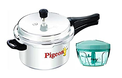 5f6192f04f0 Image Unavailable. Image not available for. Colour  Pigeon by Stovekraft  Deluxe Alluminium Pressure Cooker ...